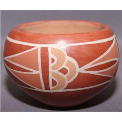 Santa Clara pottery bowl