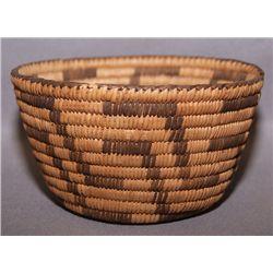Pima basketry  bowl