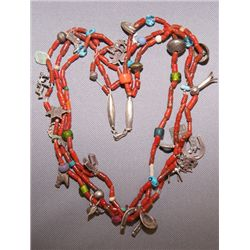 Pueblo treasure necklace