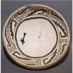 Rio Grande pottery bowl