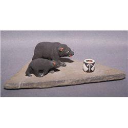 Cochiti pottery figures