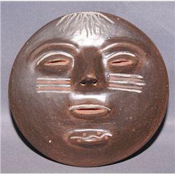 Santa Clara pottery plate