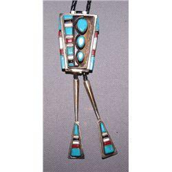 Navajo silver Bolo