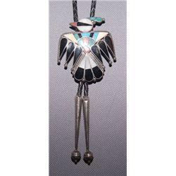 Zuni silver Bolo
