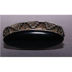 Navajo silver ring