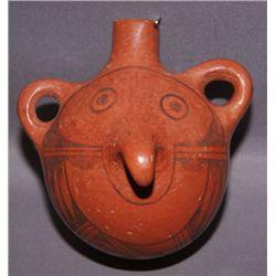 Hopi pottery canteen