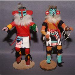 2 Navajo Kachinas