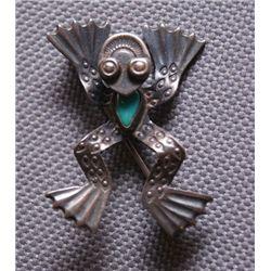 Navajo silver pin