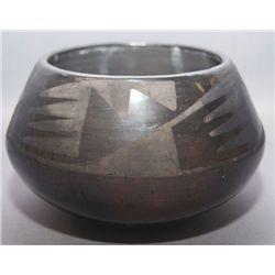 San Ildefonso pottery bowl
