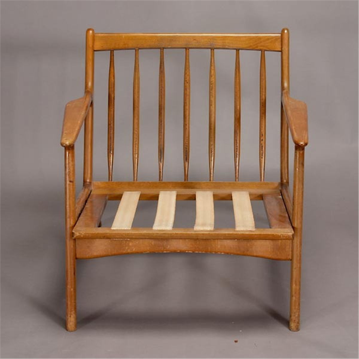 Picture of: Modern 1950s Danish Spindle Back Arm Chair