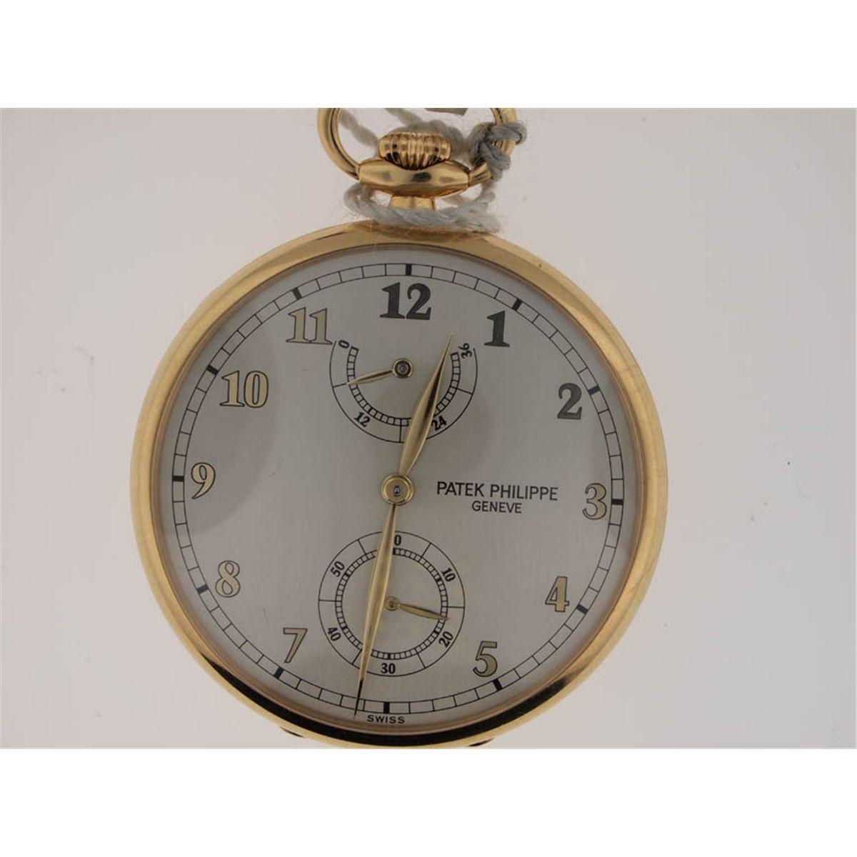 750252cec Patek Philippe 18k Gold Pocket Watch. Power Reserve. Loading zoom