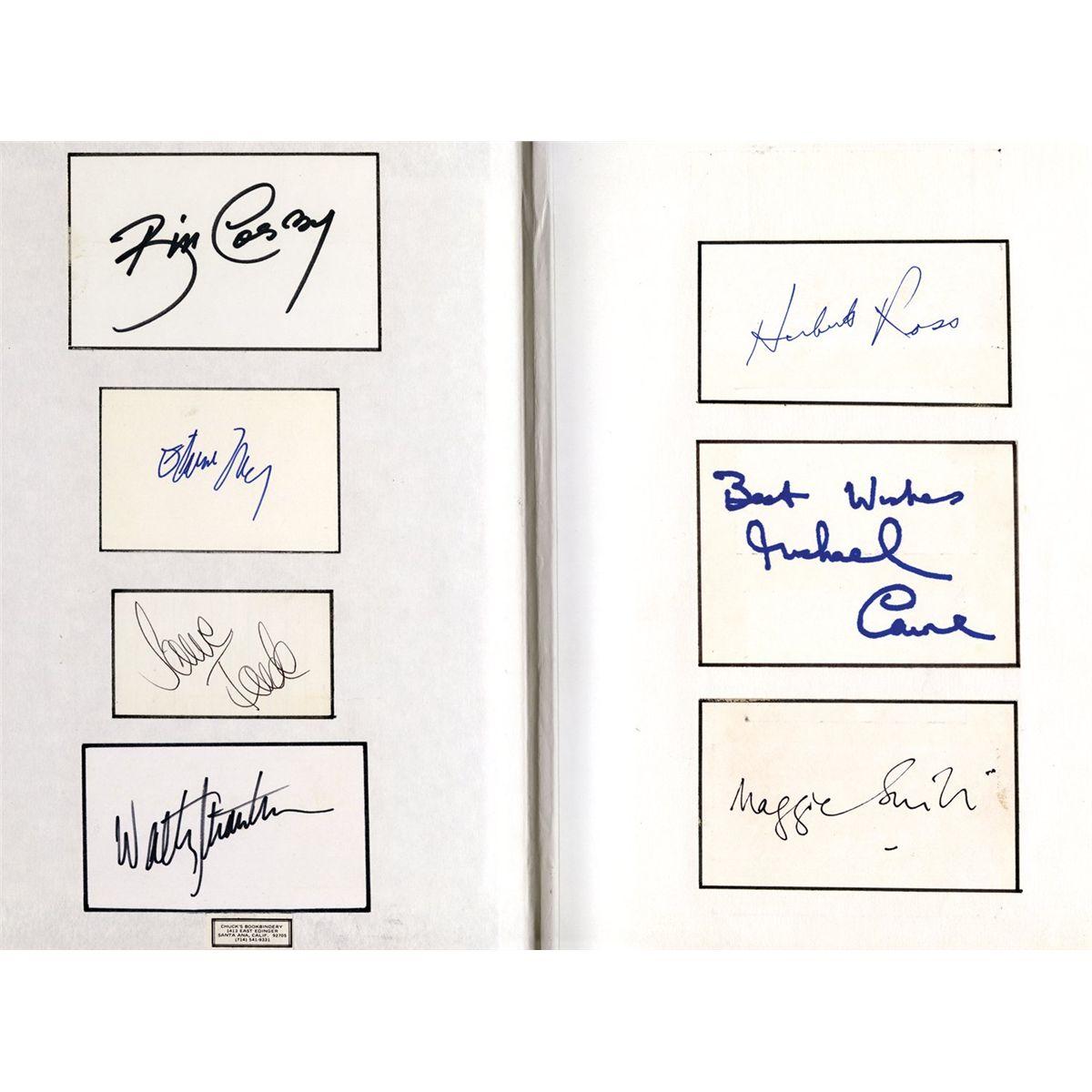 Collection of 22 cast-signed scripts: The Outlaw Josey Wales, Farewell, My  Lovely and others