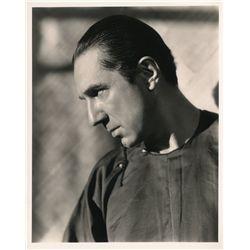 Vintage profile portrait of Bela Lugosi, ca. 1930