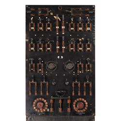 Kenneth Strickfaden electronic effects switchboard used in frankenstein, The Bride of Frankenstein