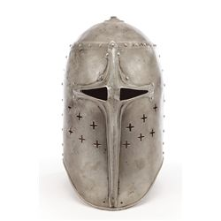 Helmet worn by Henry Wilcoxon in The Crusades