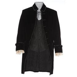 "Ronald Colman ""Robert Clive"" velvet jacket and vest designed by Omar Kiam for Clive of India"