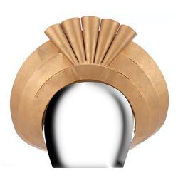 Helen Gahagan brass crown from She