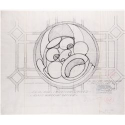 Mad Love extensive archive of original 1935 technical drawings for set construction