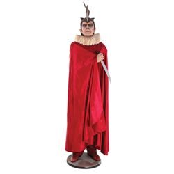 """Charlie Chan at the Opera spectacular Boris Karloff """"Mephisto"""" screen-used cape and display"""