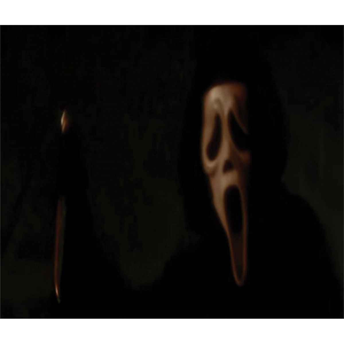 Ghostface barn scene costume from Scream 4
