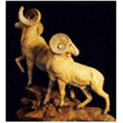 """Lookout"" Bronze Sculpture by Lorenzo Ghiglieri"