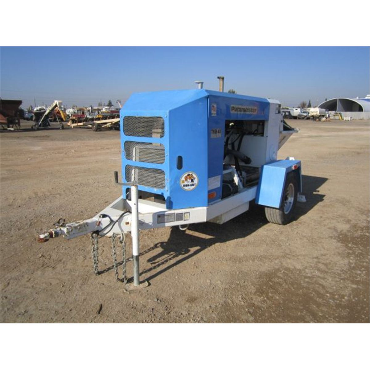 2006 Putzmeister TKB45 S/A Towable Concrete Pump Trailer