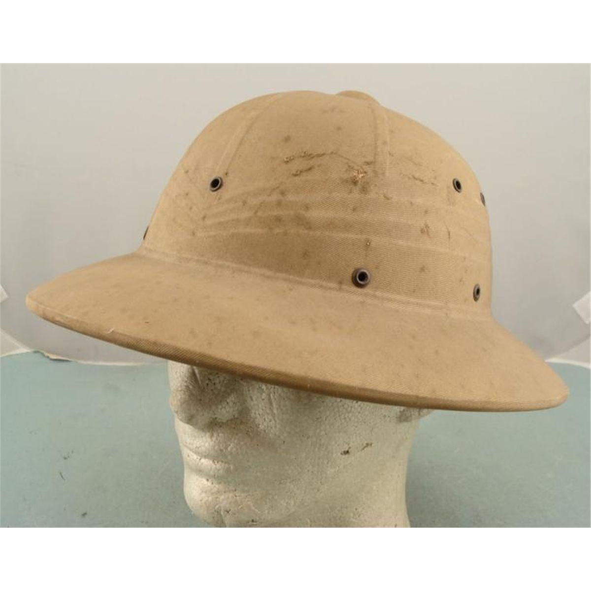 d231c6c4af Image 1   ORIGINAL 1942 WWII US PACIFIC THEATRE NAVY PITH HELMET ...