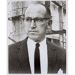 Jonas Salk Signed Photo