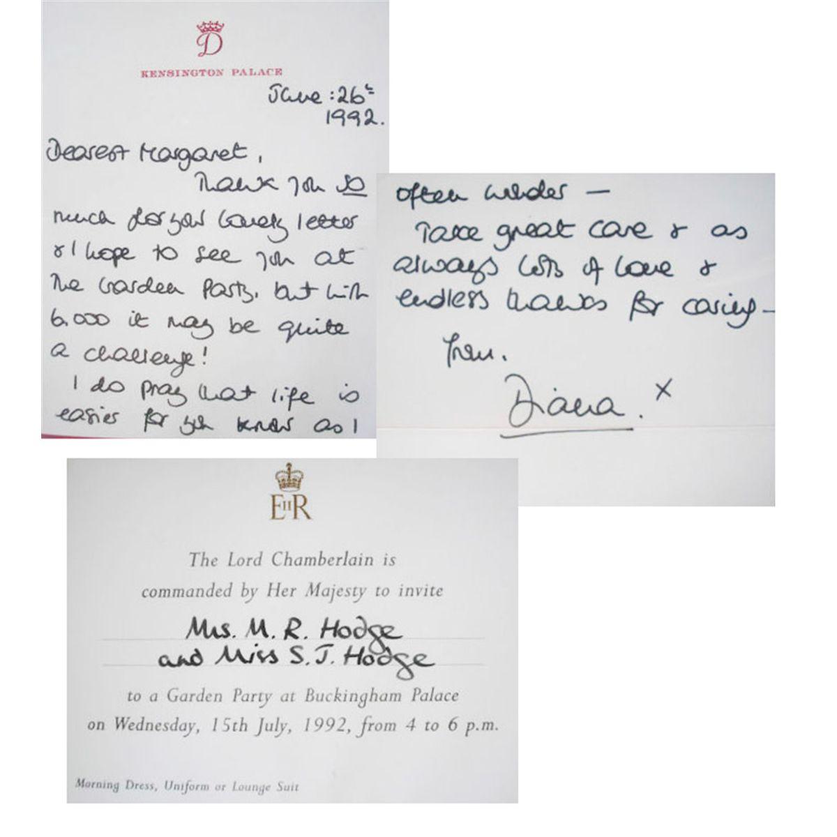 Princess Diana ALS 1992