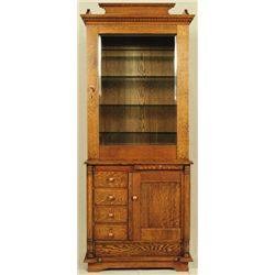 Tiger Oak Doctor's Cabinet