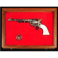 Frank Hendricks Engraved Colt Texas Ranger SAA FFL