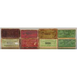 Collection of Colt .44 Ammo Boxes