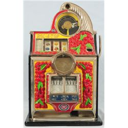 Rol-A-Top Cherry 5 Cent Slot Machine