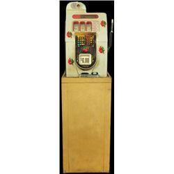 Mills Black Cherry Front 5 Cent Slot Machine