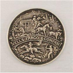 Wells Fargo Commemorative Medal 1852-1902
