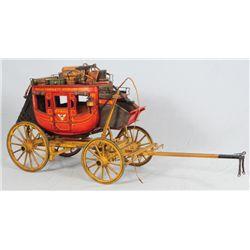 Wells Fargo Miniature Stagecoach