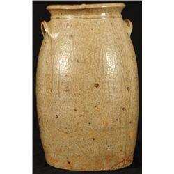 JH Signed Stoneware Jar Rusk County, Texas