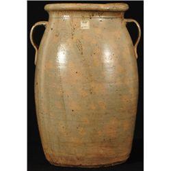 John Leopard Stoneware Jar Rusk County, Texas