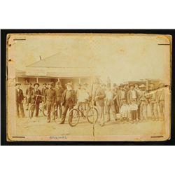 1893 Judge Roy Bean Photograph