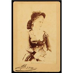 Lilly Langtry Cabinet Card