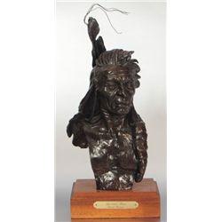 "David Lemon ""Spotted Bear"" Bronze"