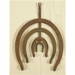 Texas Blacksmith Shop Horse Shoe Trade Sign