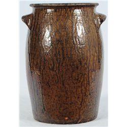 Milligan Frazier Texas Stoneware Jar