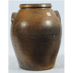 JC Lambert Signed Texas Stoneware Jar