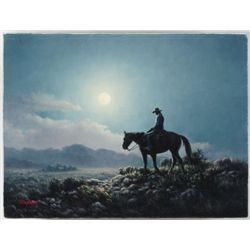 Dalhart Windberg Western Oil Painting