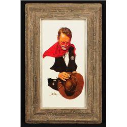 Jim Sharpe  The Ranger  Oil Painting