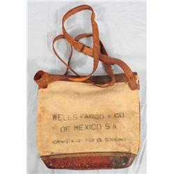 Wells Fargo y Co. of Mexico Satchel