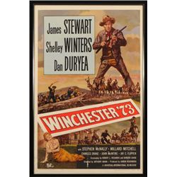 Winchester '73 One Sheet Movie Poster