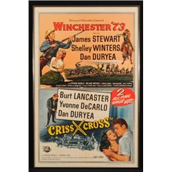 Winchester '73 Double Feature Movie Poster