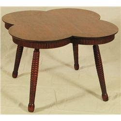 Folk Art Four Leaf Clover Table